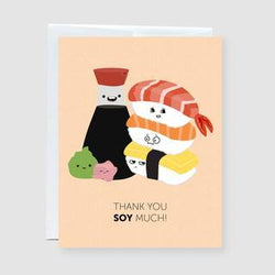 Craftedvan - Greeting Cards - Soy Much