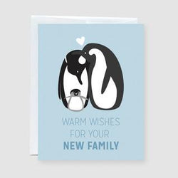 Craftedvan - Greeting Cards - New Family