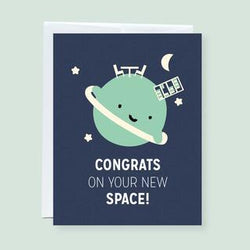 Craftedvan - Greeting Cards - New Space