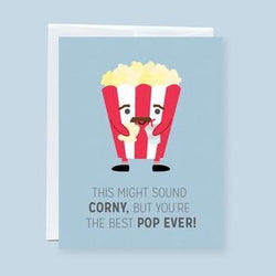 "Craftedvan - Greeting Cards - Best ""POP"" Ever"