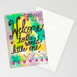 Kathleen Tennant - Card - Welcome Little One