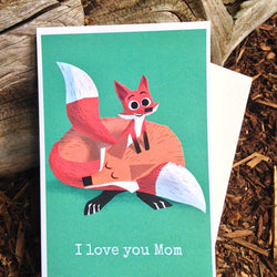 Pickle Punch – Greeting Cards - I Love You Mom