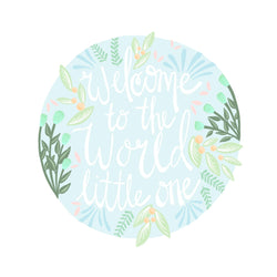 Karma Card Co. - Welcome To The World Greeting Card