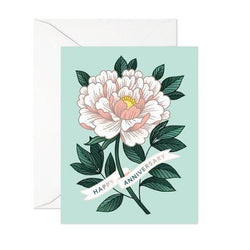 Linden Paper Co. - Cards - Happy Anniversary Peony