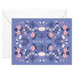 Linden paper co cards blue garden