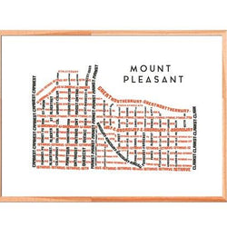 TypeCart - Mount Pleasant Map