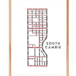 TypeCart - South Cambie Map