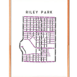 TypeCart - Riley Park Map