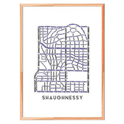 TypeCart - Shaughnessy Map