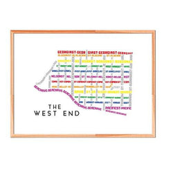 TypeCart - West End Pride Map