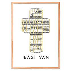 TypeCart - East Van Cross Map