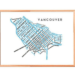 TypeCart - Downtown Vancouver Map