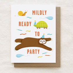 Quirky Paper Co. - Card - Mildly Ready