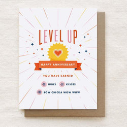 Quirky Paper Co. - Card - Level Up Anniversary
