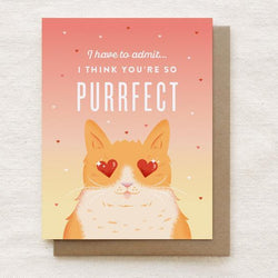 Quirky Paper Co. - Card - Purrfect