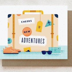 Quirky Paper Co. - Card - Suitcase
