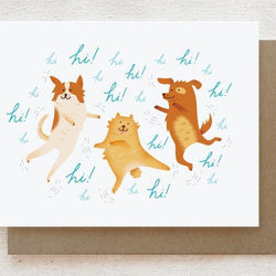Quirky Paper Co. - Card - Excited Dogs