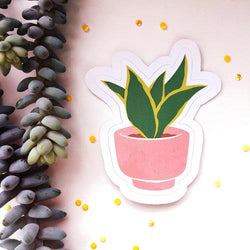 The Funky Fresh - Sticker - House Plant Sticker