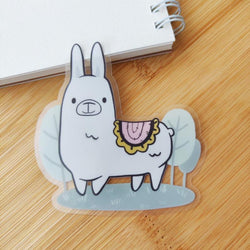 Mint and Woolly - Sticker - Llama