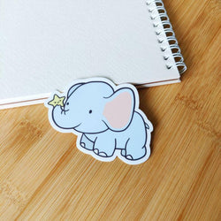 Mint and Woolly - Sticker - Elephant
