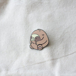 Mint and Woolly - Enamel Pin - Sloth