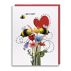Studio Vcky - Card - Get a Room, Bees