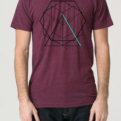 Robbie Vergara - t-shirt - triangle