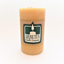"Arbutus Candle Company - Beewax - 3""x 5"" Round Pillar"