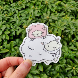 Mint and Woolly - Sticker - Sheep