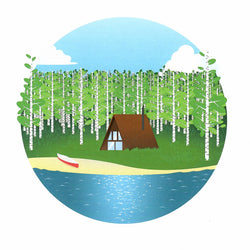 Justindeed - Prints - Summer Cabin
