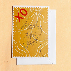 Bek Design - Card - XO Marks the Spot