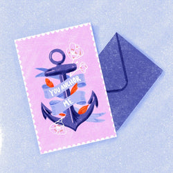Bek Design - Card - You Anchor Me