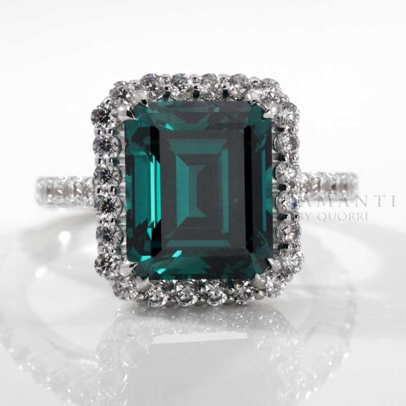 cultured green emerald jewelry and gems at Quorri review Canada