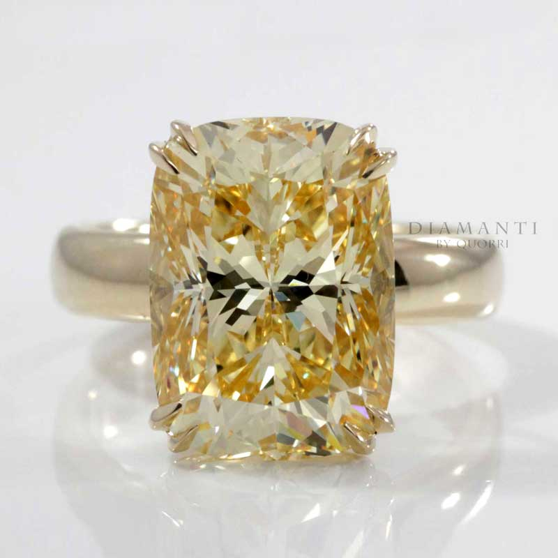 cultured puregem yellow sapphire gemstones at Quorri Canada