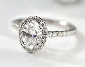 affordable man made diamond engagement rings in Canada Quorri
