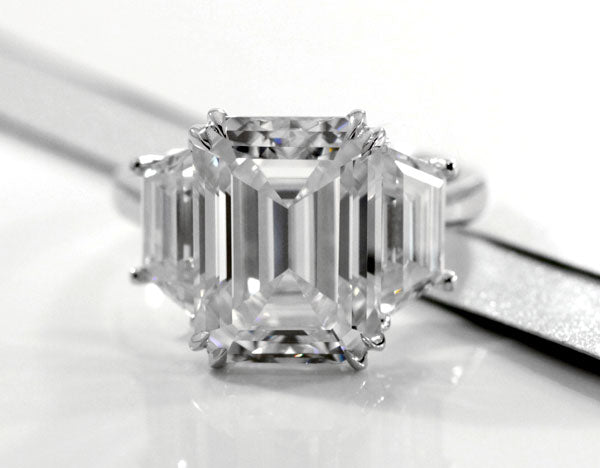 custom created diamond engagement rings and bands in canada