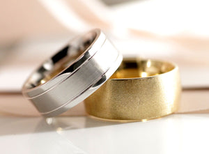 designer mens diamond wedding bands at Quorri