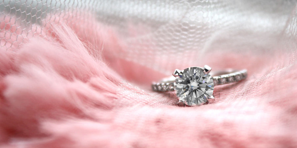 low cost diamond engagement ring in canada