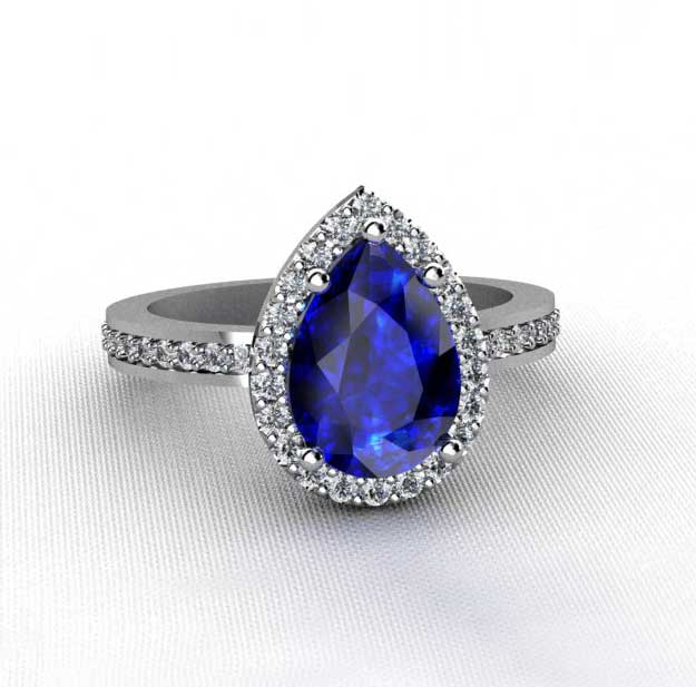 sapphire blue quorri aterna diamonds are better than moissanite canada