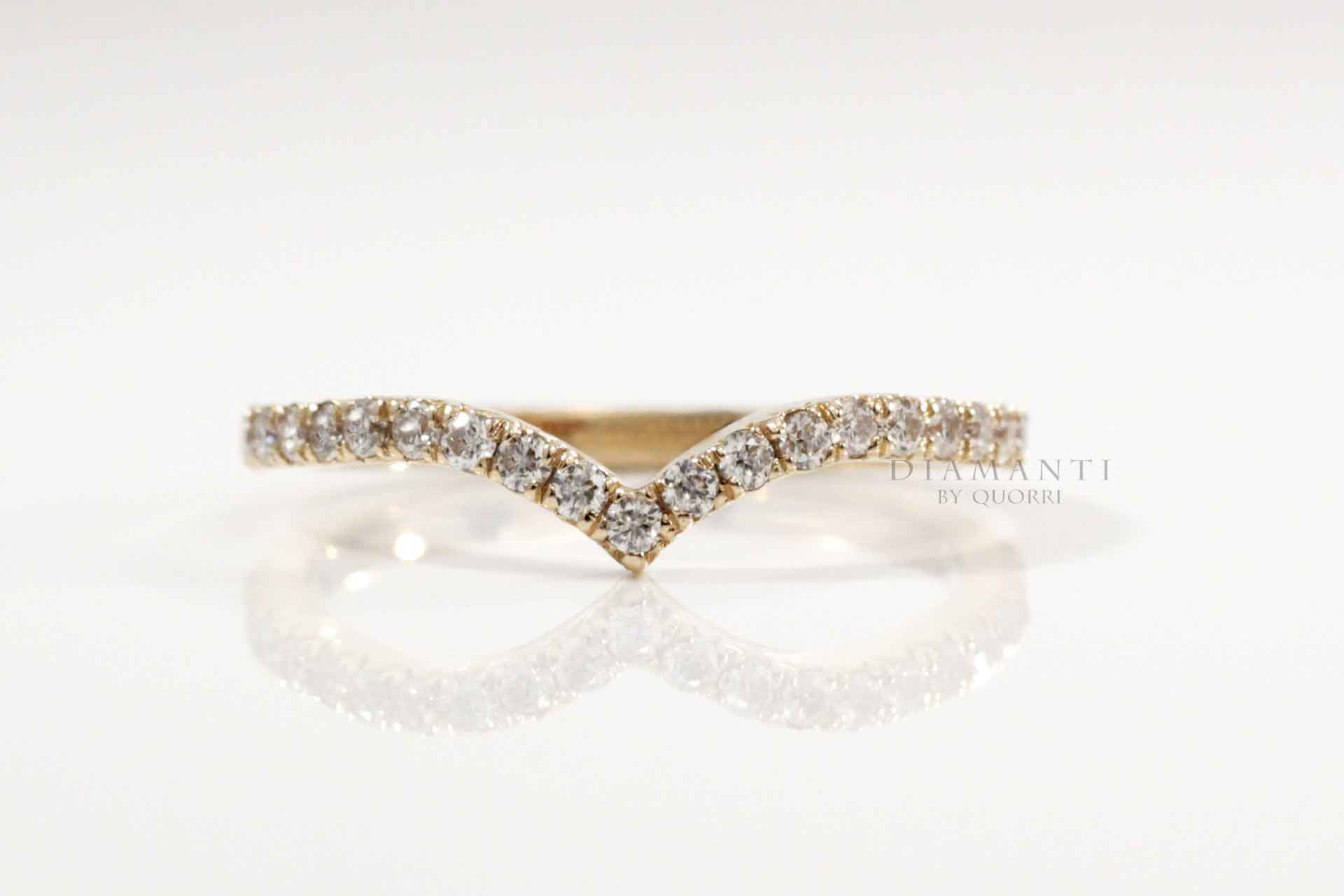 low cost high quality 14k wedding bands at Quorri Canada
