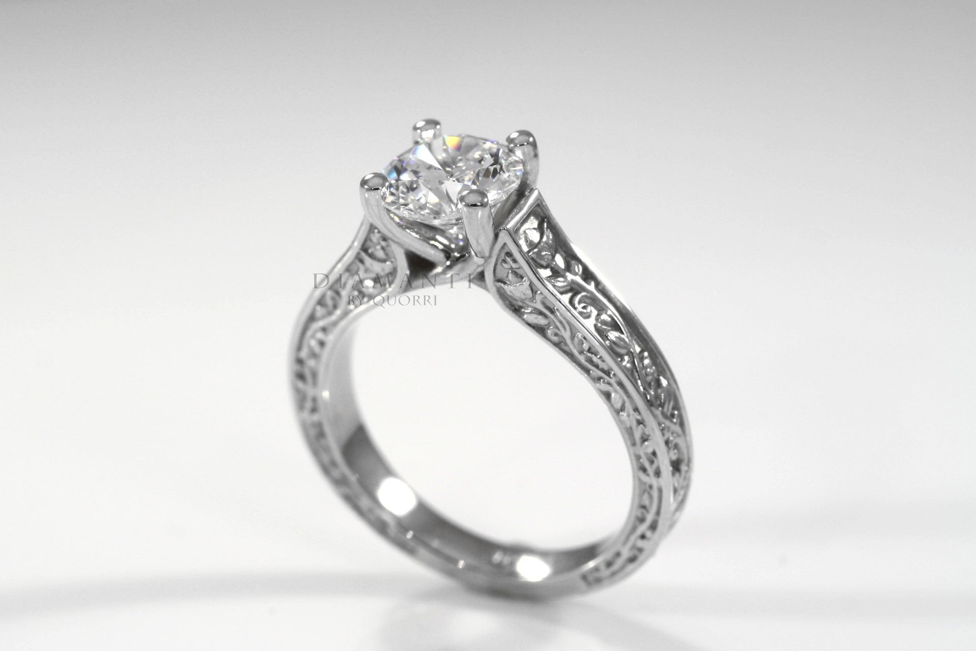 cheap antique round lab diamond engagement rings in canada by quorri reviews