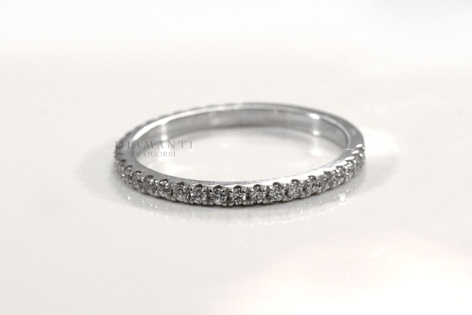 affordable tiffany designer gold and diamond wedding bands at Quorri Canada
