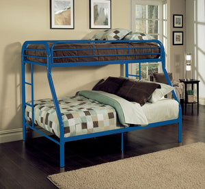 Acme Tritan Twin/Full Bunk Bed, Blue
