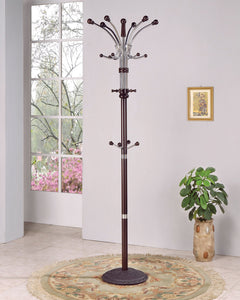 Acme Hubert Coat Rack, Espresso
