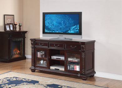 Acme Anondale TV Stand, Cherry