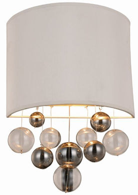 Milan Collection Wall Sconce W:10