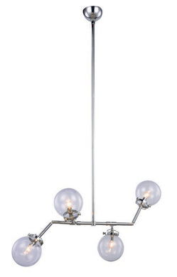 Leda Collection Pendant Lamp L:40