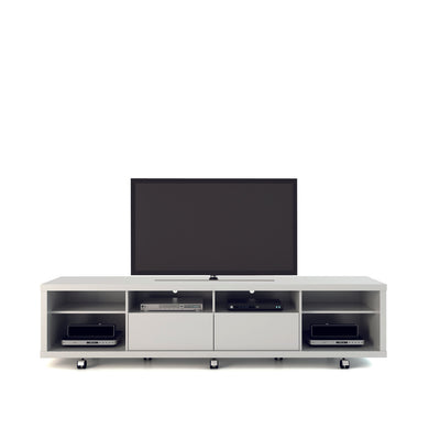 Manhattan Comfort Cabrini TV Stand 2.2 in White Gloss