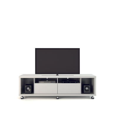 Manhattan Comfort Cabrini TV Stand 1.8 in White Gloss