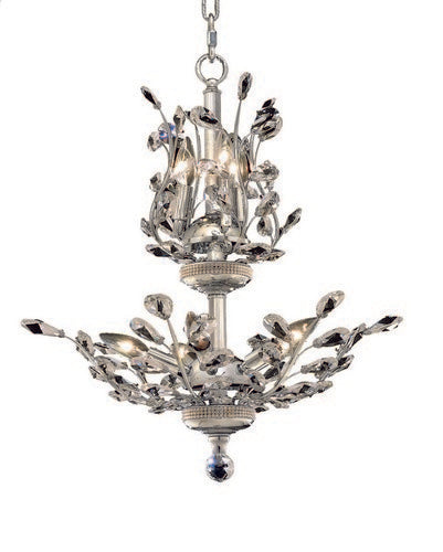 2011 Orchid Collection Hanging Fixture D21in H22in Lt:8 Chrome Finish (Royal Cut Crystals)